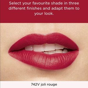 CHANEL Makeup - Chanel rouge lipstick and Clarins rouge lipstick